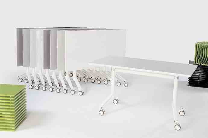 Office Furniture Tables Folding Tables FlipTop Tables Mobile Tables - Folding boardroom table